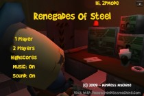 Renegades of Steel - Zrzut ekranu