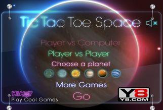 Graj w Tic Tac Toe Space
