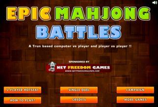 Graj w Epic Mahjong Battles