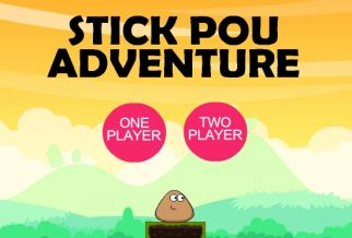 Graj w Stick Pou Adventure
