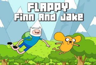 Graj w Flappy Finn and Jake