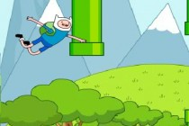 Flappy Finn and Jake - Zrzut ekranu