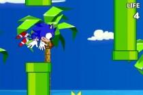 Flappy Sonic and Tails - Zrzut ekranu