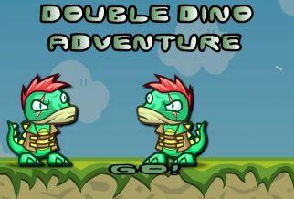 Graj w Double Dino Adventure