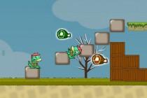 Double Dino Adventure - Zrzut ekranu