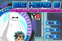 Big Hero 6: Rescue The Hostages - Zrzut ekranu