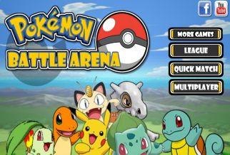 Graj w Pokemon Battle Arena