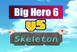 Graj w Big Hero 6 vs Skeleton