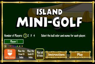 Graj w Island Mini-Golf