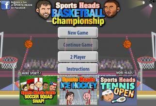 Graj w Sports Heads: Basketball Championship