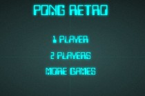Pong Retro - Zrzut ekranu