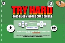Try Hard: 2015 Rugby World Cup Combat - Zrzut ekranu
