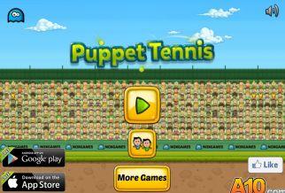 Graj w Puppet Tennis
