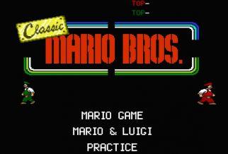 Graj w Classic Mario Bros