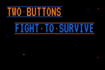 Two Buttons Fight to Survive - Zrzut ekranu