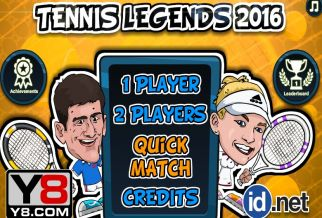 Graj w Tennis Legends 2016
