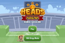 Heads Arena Euro Soccer - Zrzut ekranu