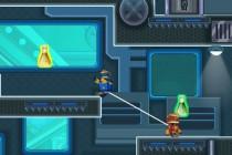 Robot Brother Lab Adventure - Zrzut ekranu