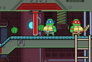 Graj w Ninja Turtles Hostage