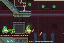 Ninja Turtles Hostage - Zrzut ekranu