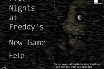 Five Nights at Freddy's - Zrzut ekranu