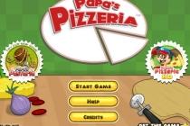Papa's Pizzeria - Zrzut ekranu