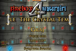 Graj w Ogień i Woda 4: Kryształowa Świątynia