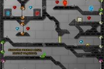 Ogień i Woda 4: Kryształowa Świątynia - Zrzut ekranu