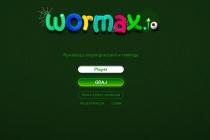 Wormax.io - Zrzut ekranu