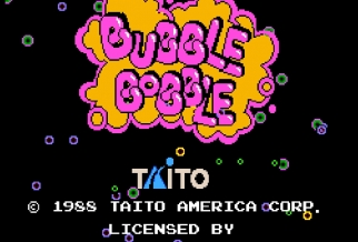 Graj w Bubble Bobble