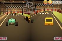 Wyścigi 3D - Zrzut ekranu