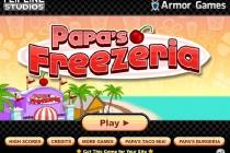 Papa's Freezeria - Zrzut ekranu