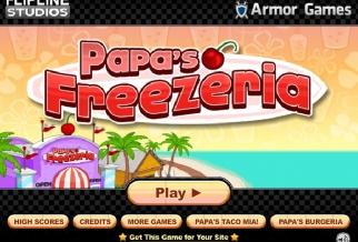 Graj w Papa's Freezeria