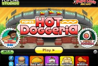 Graj w Papa's Hot Doggeria