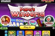 Papa's Wingeria - Zrzut ekranu