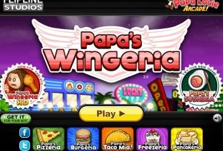 Graj w Papa's Wingeria