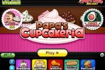 Papa's Cupcakeria - Zrzut ekranu