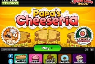 Graj w Papa's Cheeseria