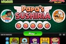 Papa's Sushiria - Zrzut ekranu