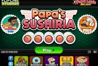 Graj w Papa's Sushiria