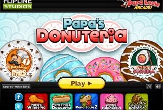 Graj w Papa's Donuteria