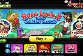Graj w Papa Louie 2